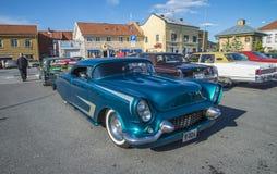 Vintage am car, pontiac-bonneville Royalty Free Stock Images