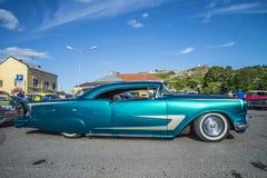 Vintage am car, pontiac-bonneville Royalty Free Stock Photos