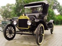 Vintage car after rain Royalty Free Stock Image