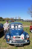 Vintage car rally 18 April 2015 Royalty Free Stock Photos