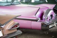 Vintage car, rear view Stock Photo