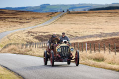 Vintage Car Reliability Trial through Northumberland Stock Photo