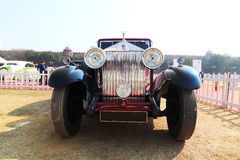 Vintage car, Rolls Royce Stock Photo