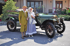 Vintage car show Stock Photo