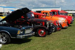 Vintage car show Royalty Free Stock Photography