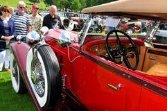 Vintage car show Stock Photos