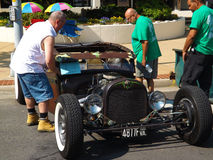 Vintage Car Show - Roanoke, Virginia, USA Royalty Free Stock Photography