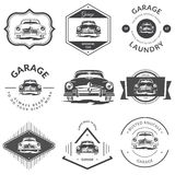 Vintage car sign - Classic Garage. Stock Photography