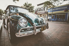 Vintage car on street Stock Image