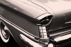 Vintage car tail lamp Stock Image
