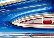 American Vintage car tail light Stock Images