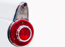 Vintage car taillight Stock Image