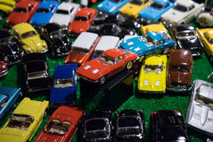 Vintage car toy Stock Photo
