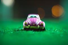 Vintage car toy Royalty Free Stock Image