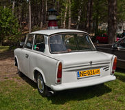 Vintage car Trabant 501 parked Stock Photos