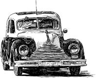 Vintage car 2 Stock Photography