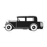 Vintage car vector icon stock photo