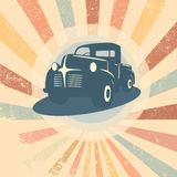 Vintage car vector Stock Image