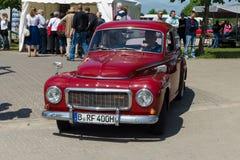 Vintage car Volvo PV544 (B18 engine) Stock Image