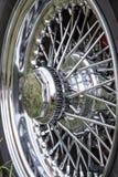 Vintage Car Wheel Royalty Free Stock Photo