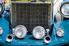 Vintage car wheels - classic vehicles Stock Image