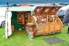 Vintage Caravan Stock Images