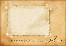 Vintage card Stock Images