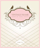 Vintage card design Stock Images