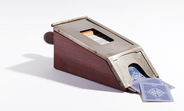 Vintage card dispenser Royalty Free Stock Photography