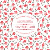 Vintage card. Royalty Free Stock Photo