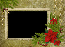 Vintage card for the holiday Stock Photos