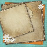 Vintage card for the holiday Royalty Free Stock Photos