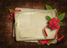 Vintage card for the holiday Royalty Free Stock Images