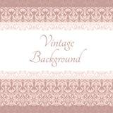 Vintage card Stock Image