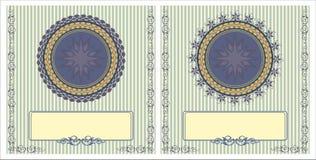 Vintage card pattern Stock Photography