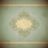 Vintage card with place for text - scrapbook style Royalty Free Stock Photos