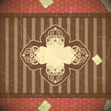 Vintage card with place for text - scrapbook style Royalty Free Stock Images