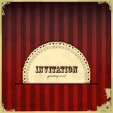 Vintage card with place for text - scrapbook style Stock Photos
