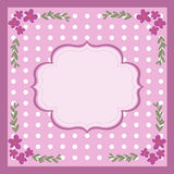 Vintage Card. Retro theme background, can used as card Stock Photos
