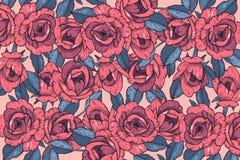 Vintage card with rose flowers. Floral wreath. Flower pattern. Florish background. Vintage card with rose flowers. Floral wreath. Flower pattern. Florish vector illustration