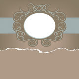 Vintage card with space for text. EPS 8. Vector file included Royalty Free Stock Images