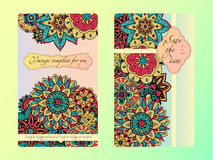 Vintage card tamplate. Wedding invitation, card for your busines Royalty Free Stock Images