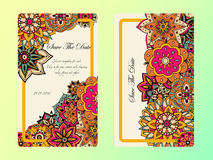 Vintage card tamplate. Wedding invitation, card for your busines Stock Photos