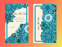 Vintage card tamplate. Wedding invitation, card for your busines Royalty Free Stock Photography
