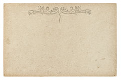 Vintage cardboard texture. Used paper background Stock Photos
