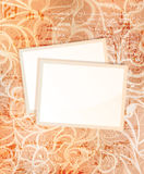 Vintage cards Royalty Free Stock Photography