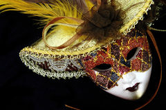 Vintage carnival mask Stock Photos