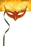 Vintage carnival mask. With copy space Stock Photos