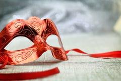 Vintage carnival mask Stock Photos