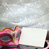 Vintage carnival mask Royalty Free Stock Images